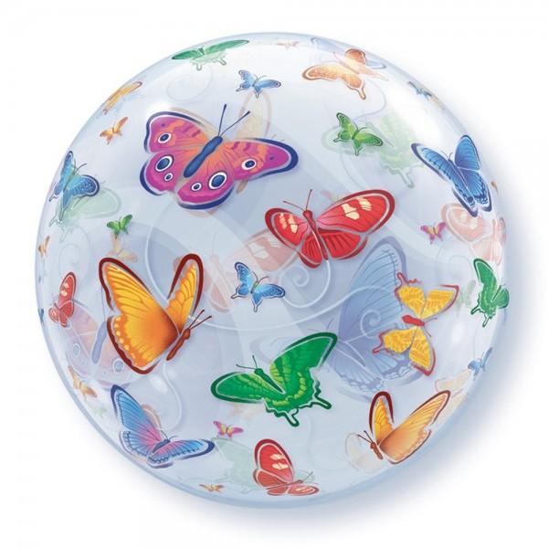 Single Bubbles - Qualatex 22 inch Butterflies