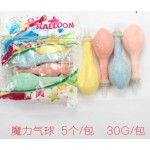 Magic Balloons (styrofoam) ~ 5 pcs