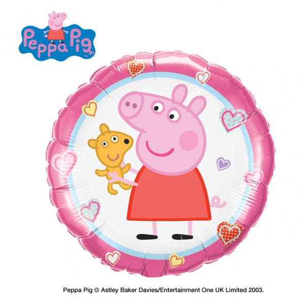 Character Balloons - Qualatex 18 inch Peppa's Teddy