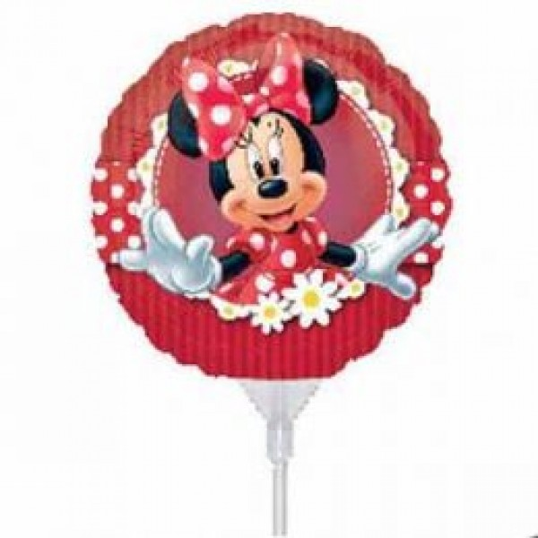 Character Balloons - Anagram 9 inch Mad About Minnie