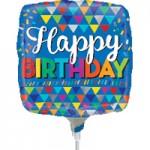 Anagram 9 inch Happy Birthday Primary Triangles