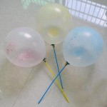 Latex Balloons - Magic Balloons (styrofoam) ~ 5 pcs