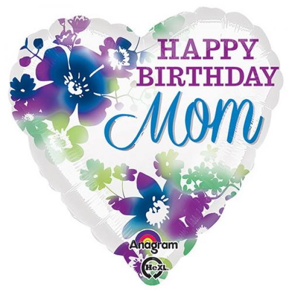 Mother's Day Balloon - Anagram 17 inch Happy Birthday Mom
