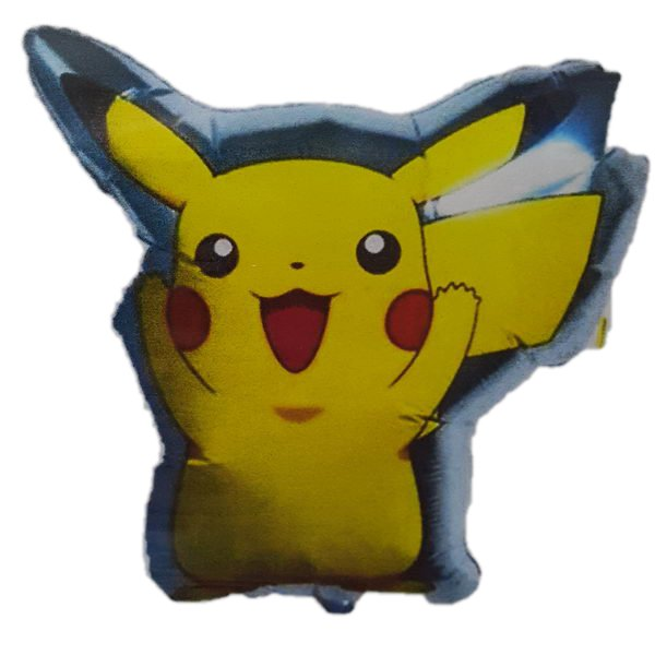 Character Balloons - Pokemon 18 Inch Pikachu Foil Balloon From Japan