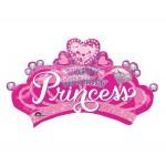 Anagram 32x19 inch Princess Crown & Gem