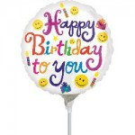 Anagram 9 inch Bold Birthday To You