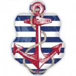 Anagram 30 x 21 inch Anchors Aweigh Anchor