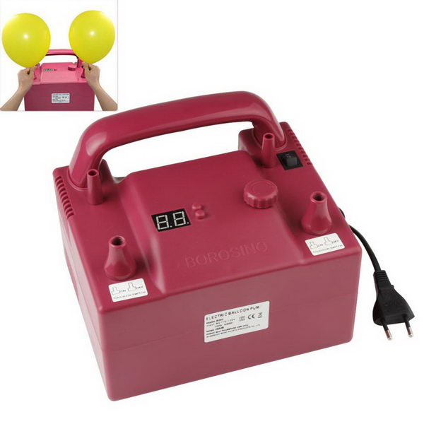 Inflator & Hand Pump - Borosino B362P Timing Electric Balloon Pump with 2 Nozzles