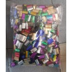 Multi Color Mylar Foil Streamers ~ 1kg