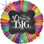 Betallic 18 inch Chalkboard Script Dream Big