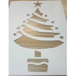 Christmas Items - Christmas Stencils ~ 9 pcs (41 x 30.5 cm)
