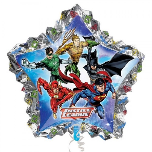 Character Balloons - Anagram 34 x 32 inch Justice League Shape