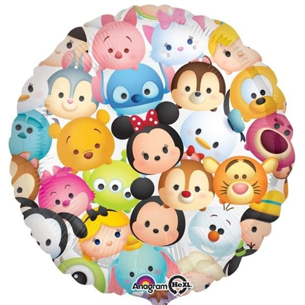 Character Balloons - Anagram 17 inch Tsum Tsum