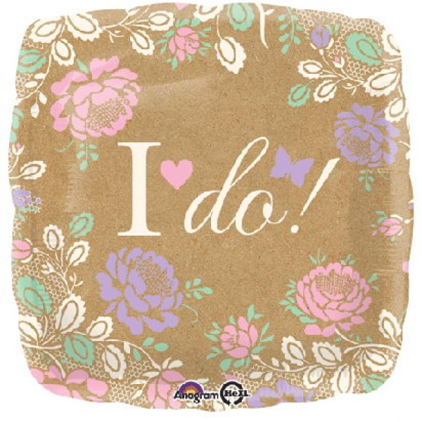 Wedding & Anniversary - Anagram 17 inch I Do