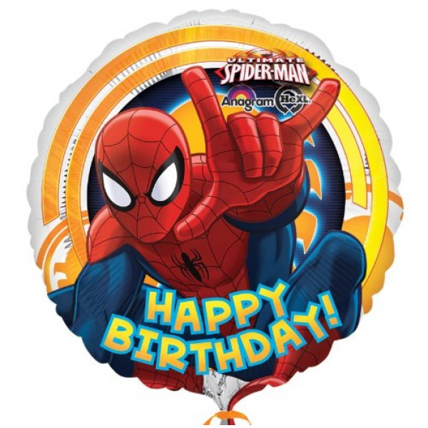 Character Balloons - Anagram 17 inch Spider-Man Ultimate Birthday
