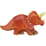 Anagram 42 x 24 inch SuperShape Dinosaur Triceratops