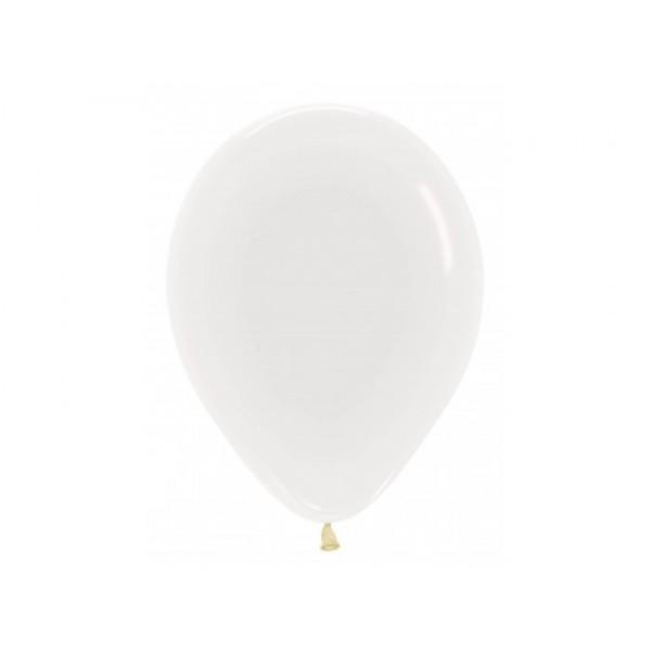 Sempertex 12 Inch Crystal Clear Transparent Round Balloon 390 ~ 100pcs