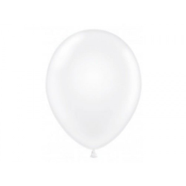 5 Round Balloons - Mytex 5 Inch Crystal Clear Transparent Round Balloons ~ 100pcs