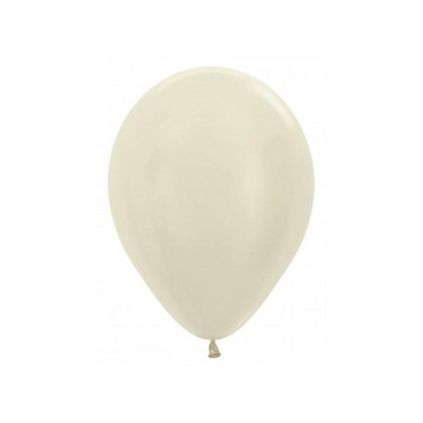 Sempertex 12 Pearl Ivory Round Balloons ~ 100pcs Sempertex