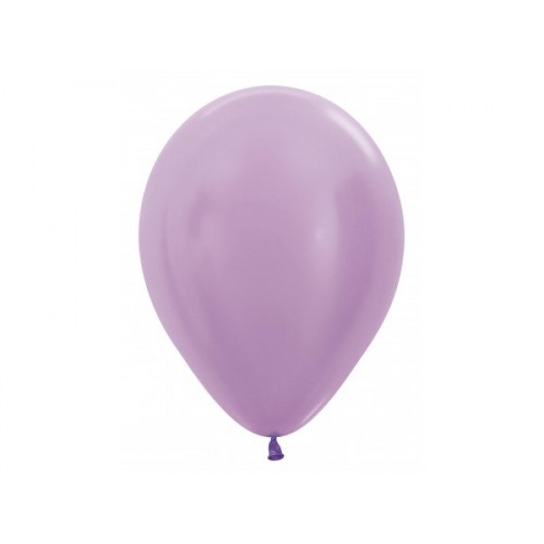 "Sempertex 12"" Inch Pearl Lilac Round Balloon 450 ~ 100pcs"