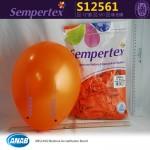 Sempertex 12 inch Metallic Round Balloons ~ 25pcs