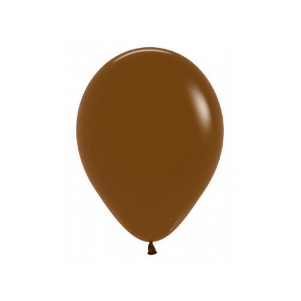 "Sempertex 12"" Inch Standard Coffee Round Balloon 074 ~ 100pcs"