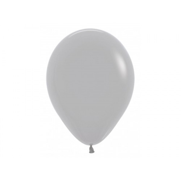 "Sempertex 12"" Inch Standard Gray Round Balloon 081 ~ 100pcs"