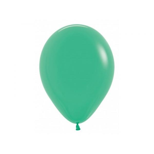 Sempertex Solid Color - Sempertex 12 Inch Standard Green Round Balloon 030 ~ 100pcs