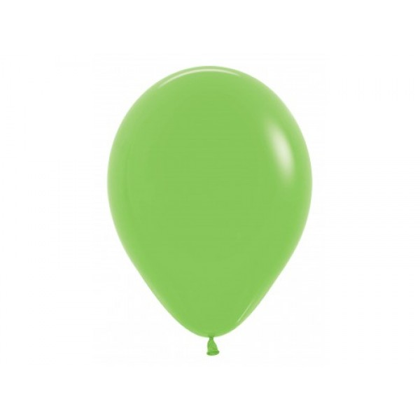 "Sempertex 12"" Inch Standard Lime Green Round Balloon 031 ~ 100pcs"