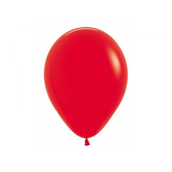 """Sempertex 12"""" Inch Standard Red Round Balloon 015 ~ 100pcs"""