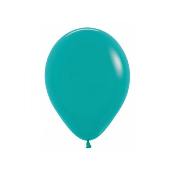 """Sempertex 12"""" Inch Standard Tuquoise Green Round Balloon 036 ~ 100pcs"""
