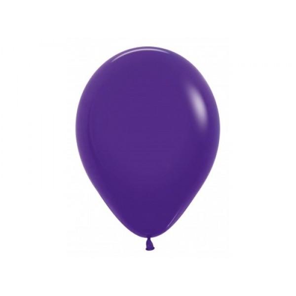 """Sempertex 12"""" Inch Standard Violet Round Balloon 051 ~ 100pcs"""