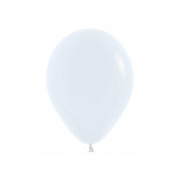 """Sempertex 12"""" Inch Standard White Round Balloon 005 ~ 100pcs"""