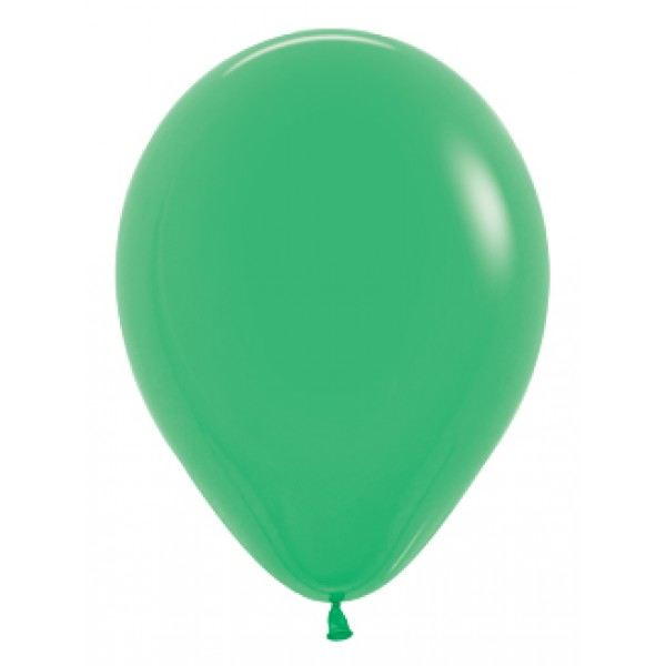 18 Inch Round Balloons - 18 Inch Solid Jade Green Color Round Balloon
