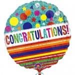 Anagram 18 inch Congratulations Sparkle