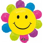 Anagram 29 x 29 inch Happy Face Daisy