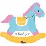 Anagram 26 x 29 inch Baby Shower Rocking Horse