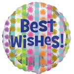 Anagram 17 inch Bright Best Wishes