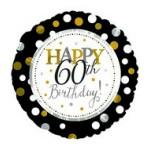CTI 17 inch Happy 60th Birthday