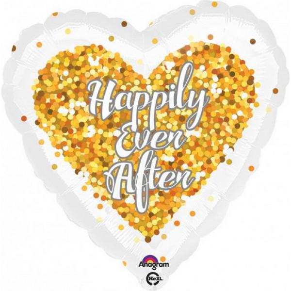 Wedding - Anagram 17 inch Confetti Wedding Heart