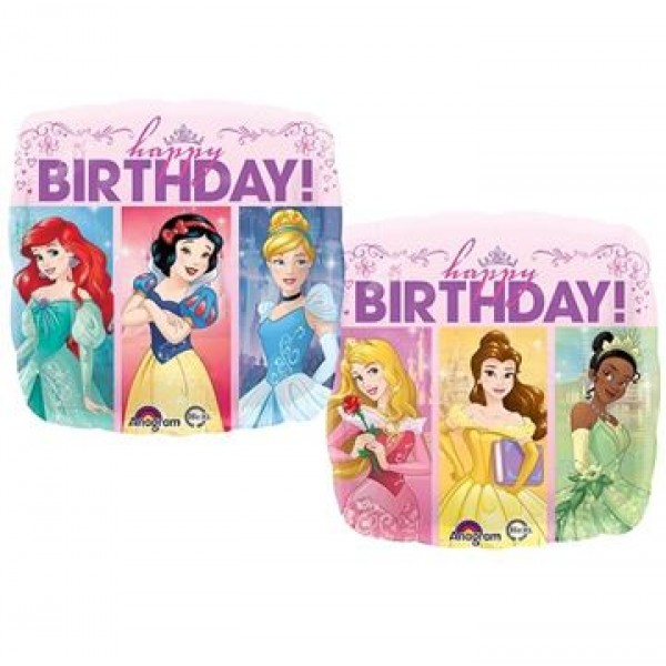 Character Balloons - Anagram 17 inch Multi-Princess Dream Big HBD