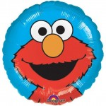 Anagram 17 inch Elmo on Blue Background