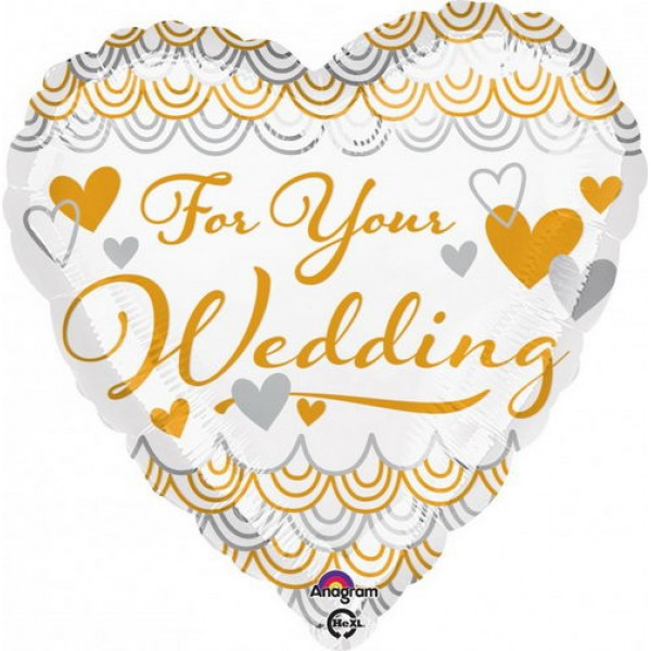 Wedding - Anagram 17 inch For Your Wedding Heart