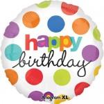 Anagram 17 inch Polka Dot Birthday