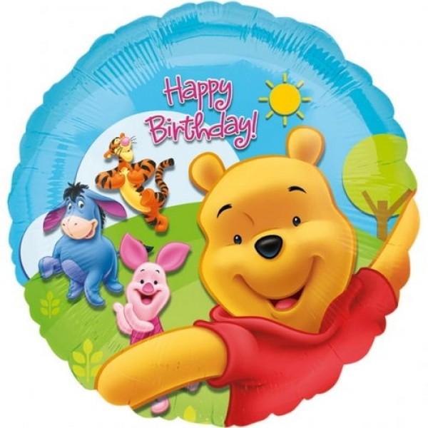 Anagram 18 Pooh & Friends Sunny Birthday Anagram