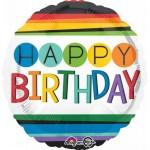 Anagram 17 inch Rainbow Birthday