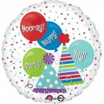 Anagram 17 inch Happy Hats