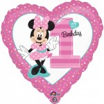 Anagram 17 inch Minnie 1st Birthday