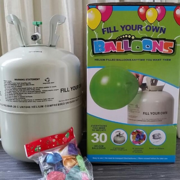 Mytex Disposable Helium Balloon Gas Tank For Party