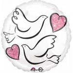 Anagram 17 inch Wedding Doves